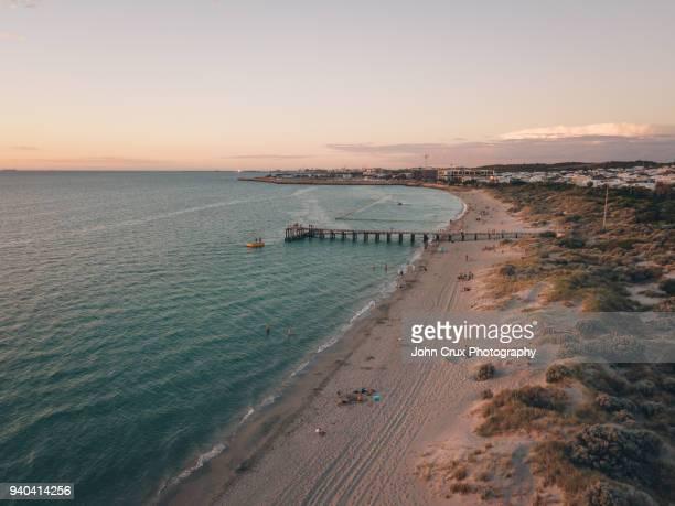 coogee beach sunset