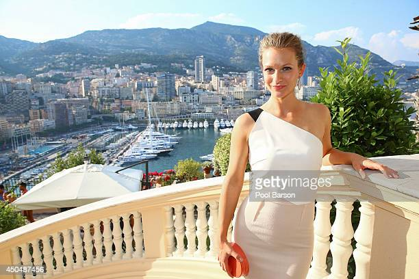 Cook aka Andrea Joy Cook attends a Cocktail Reception at the Ministere d'etat on June 9, 2014 in Monte-Carlo, Monaco.