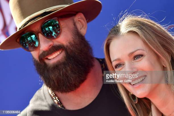 J Cook and Nathan Andersen attend the premiere of Paramount Pictures' 'Wonder Park' at Regency Bruin Theatre on March 10 2019 in Los Angeles...