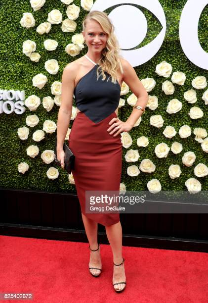 J Cook arrives at the 2017 Summer TCA Tour CBS Television Studios' Summer Soiree at CBS Studios Radford on August 1 2017 in Studio City California