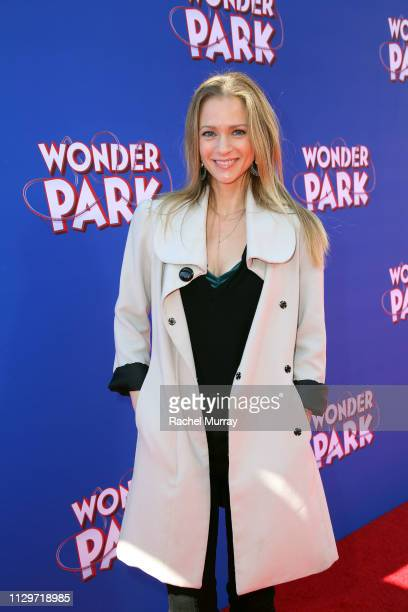 J Cook attends the Los Angeles premiere of Wonder Park at Regency Village Theatre on March 10 2019 in Westwood California
