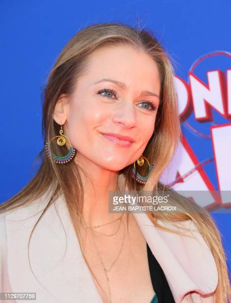 AJ Cook attends the premiere of 'Wonder Park' at the Regency Village Theatre in Los Angeles California March 10 2019