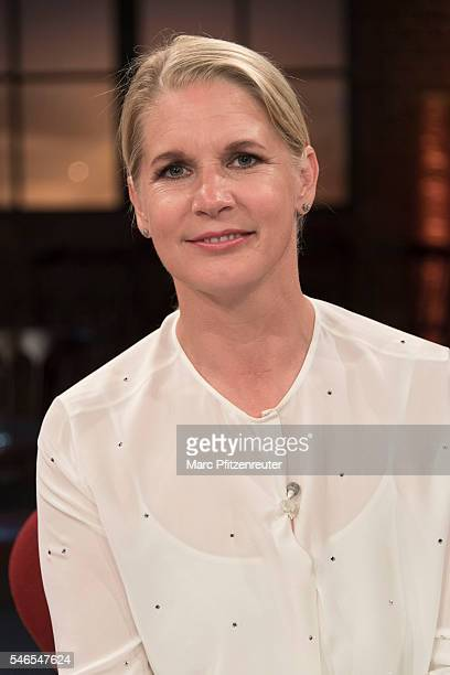 Cook Cornelia Poletto attends the 'Koelner Treff' TV Show at the WDR Studio on July 12, 2016 in Cologne, Germany.