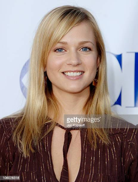 AJ Cook during CBS 2006 TCA Summer Press Tour Party at Rosebowl in Pasadena California United States