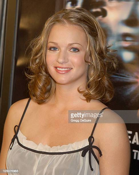 AJ Cook during Final Destination 2 Premiere at Cinerama Dome in Hollywood California United States