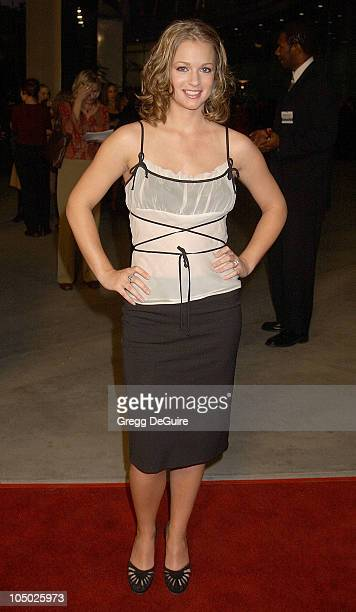 AJ Cook during 'Final Destination 2' Premiere at Cinerama Dome in Hollywood California United States