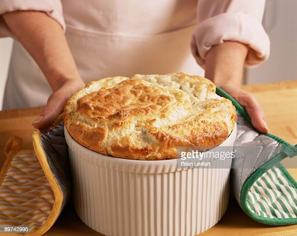Cook Holding Souffle