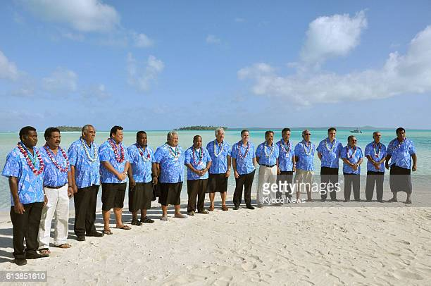 ISLAND Cook Islands Leaders gather for a Pacific Islands Forum summit in the Cook Islands on Aug 30 2012