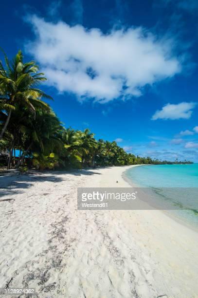 Cook Islands, Rarotonga, Aitutaki lagoon, beach