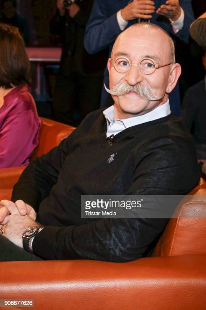 Cook presenter and author Horst Lichter during the NDR Talk Show on January 19 2018 in Hamburg Germany