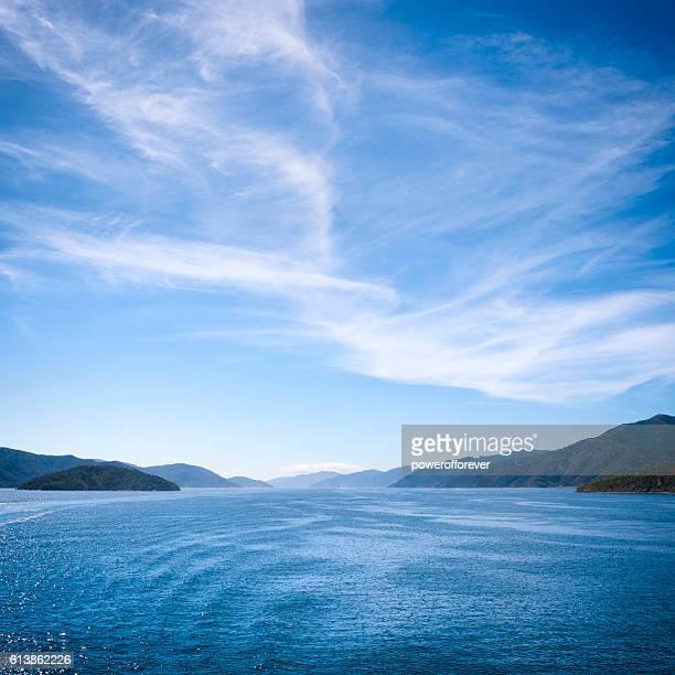 Cook Strait Landscape of New Zealand
