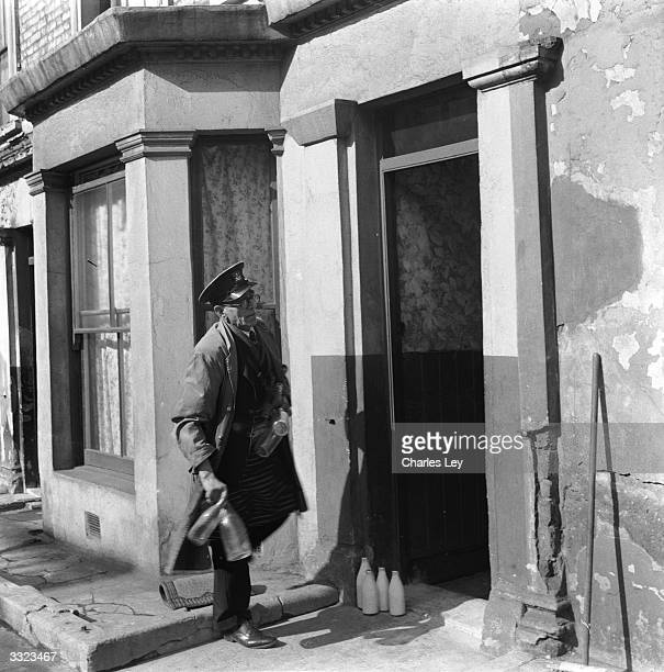 Cook the milkman who used to serve Reginald Christie and other tenants at 10 Rillington Place Notting Hill in London scene of several murders