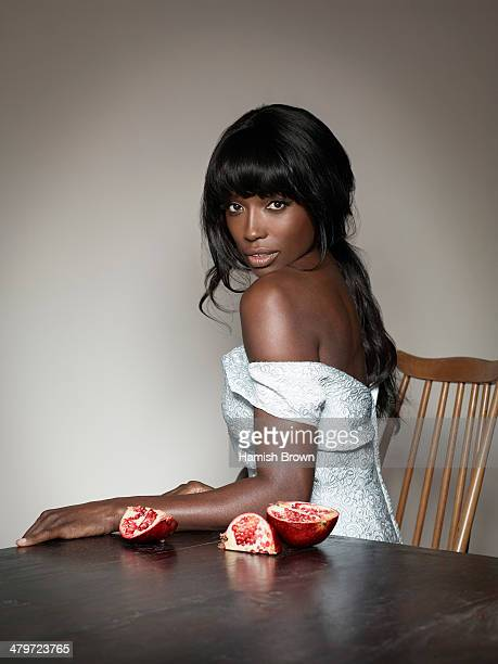 Cook, tv presenter and former model Lorraine Pascale is photographed for ES magazine on January 7, 2014 in London, England.