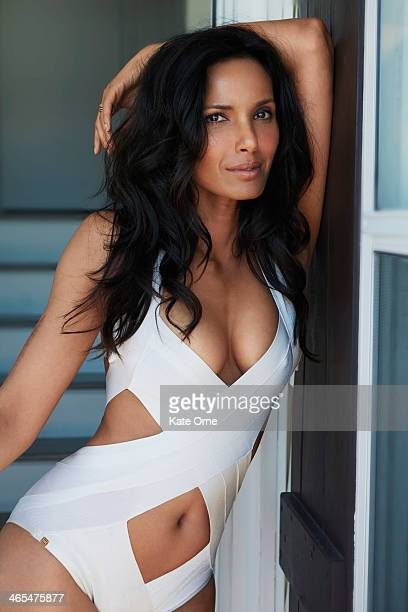 Cookbook author and television personality Padma Lakshmi is photographed for Niche Media / Hamptons Magazine on May 3 in New York City PUBLISHED IMAGE
