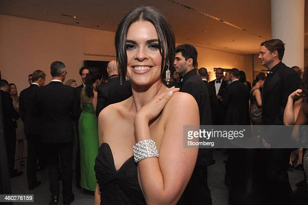 Cookbook author Katie Lee attends the second annual American Foundation for AIDS Research Inspiration Gala at the Museum of Modern Art in New York US...