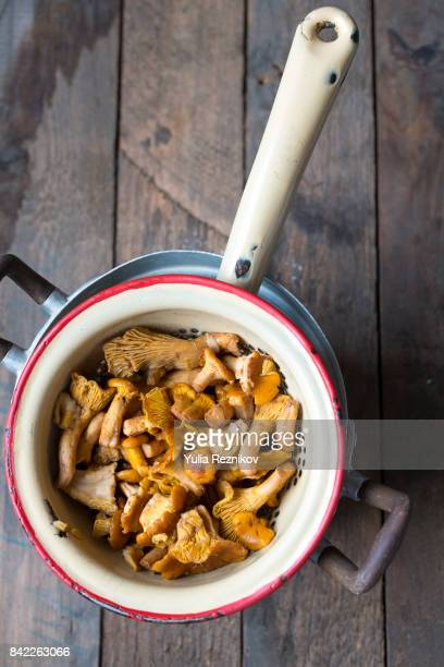 Cooked chanterelle