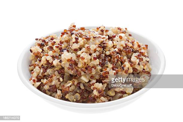 cooked quinoa - quinoa stock pictures, royalty-free photos & images
