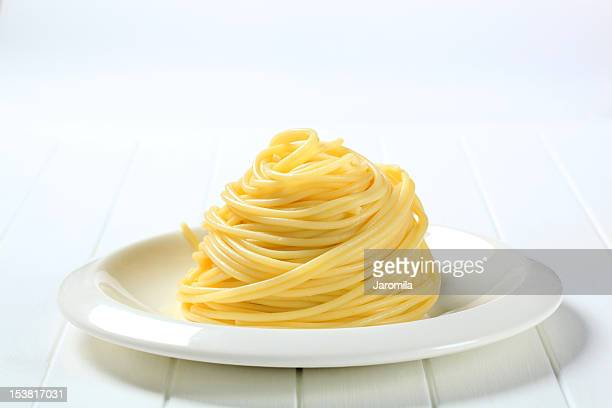 cooked spaghetti - cooked stock pictures, royalty-free photos & images