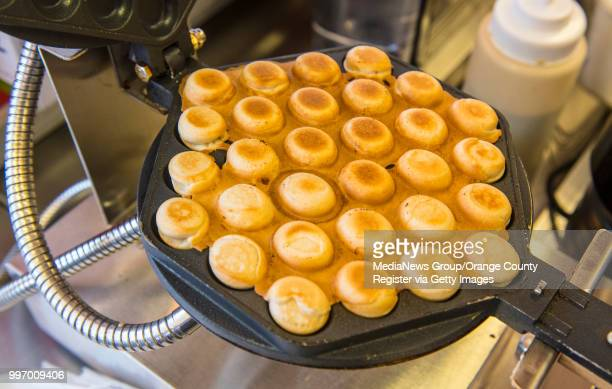 A cooked waffle ready for the Bubble Waffle Sundaes at the San Diego County Fair in Del Mar on Wednesday June 27 2018 They will be at this year's...