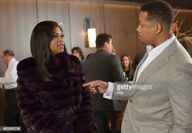 """Cookie and Lucious chat in the """"Out Damned Spot"""" episode of EMPIRE airing Wednesday, Feb. 11, 2015 on FOX."""