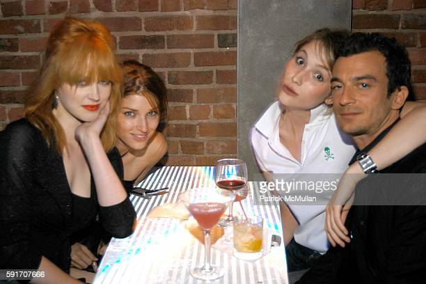 Cookie Ann Markley Aryka Noble and Alex Lasky attend Jessica White's 21st Birthday Party Hosted by Jamison Ernest of Yellow Fever at Pizza Bar on...