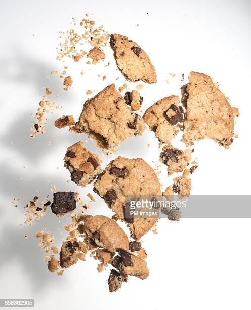 Cookie crumples