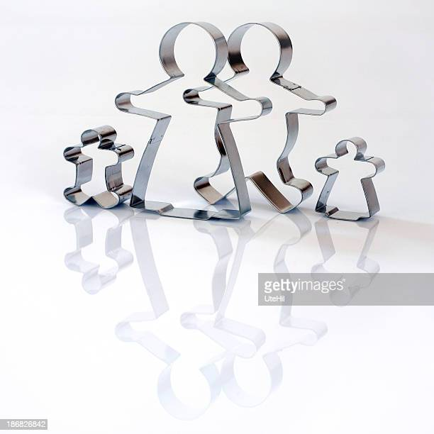 Cookie cutter_gingerbread Familie