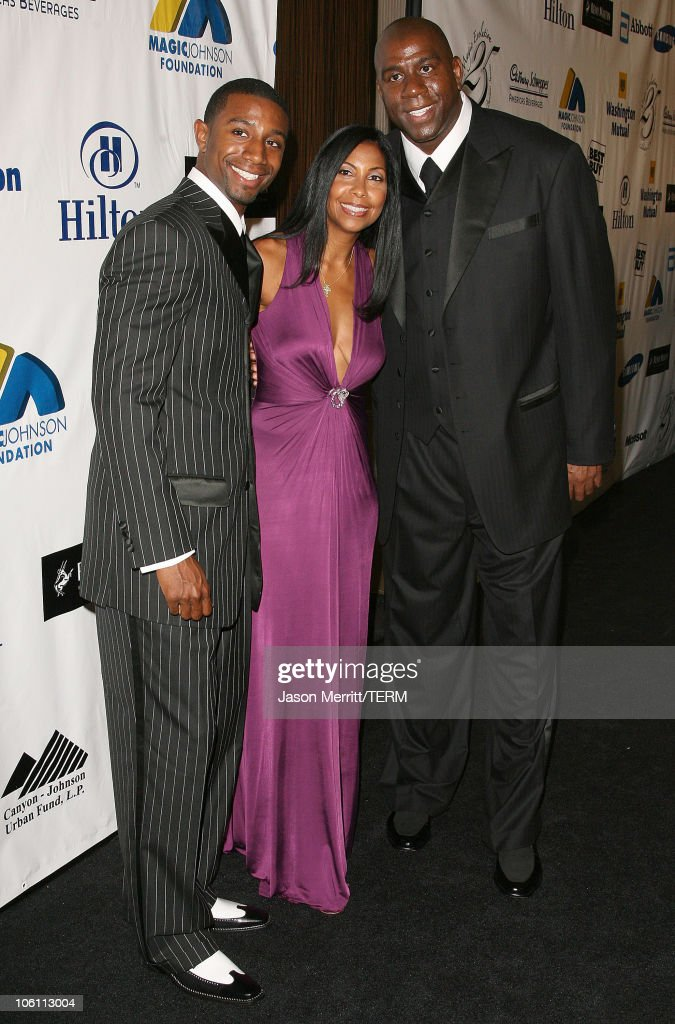 """Magic"" Evolution - An Evening Honoring Earvin ""Magic"" Johnson - Arrivals : Photo d'actualité"