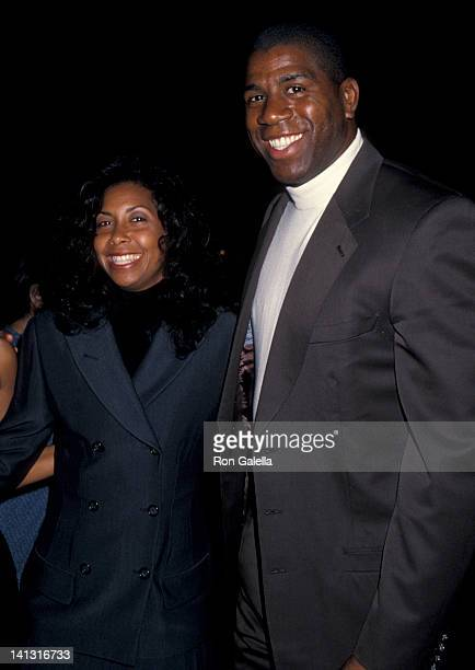 Cookie Johnson and Magic Johnson at the World Premiere of 'Dumb Dumber' Cinerama Dome Theater Universal City