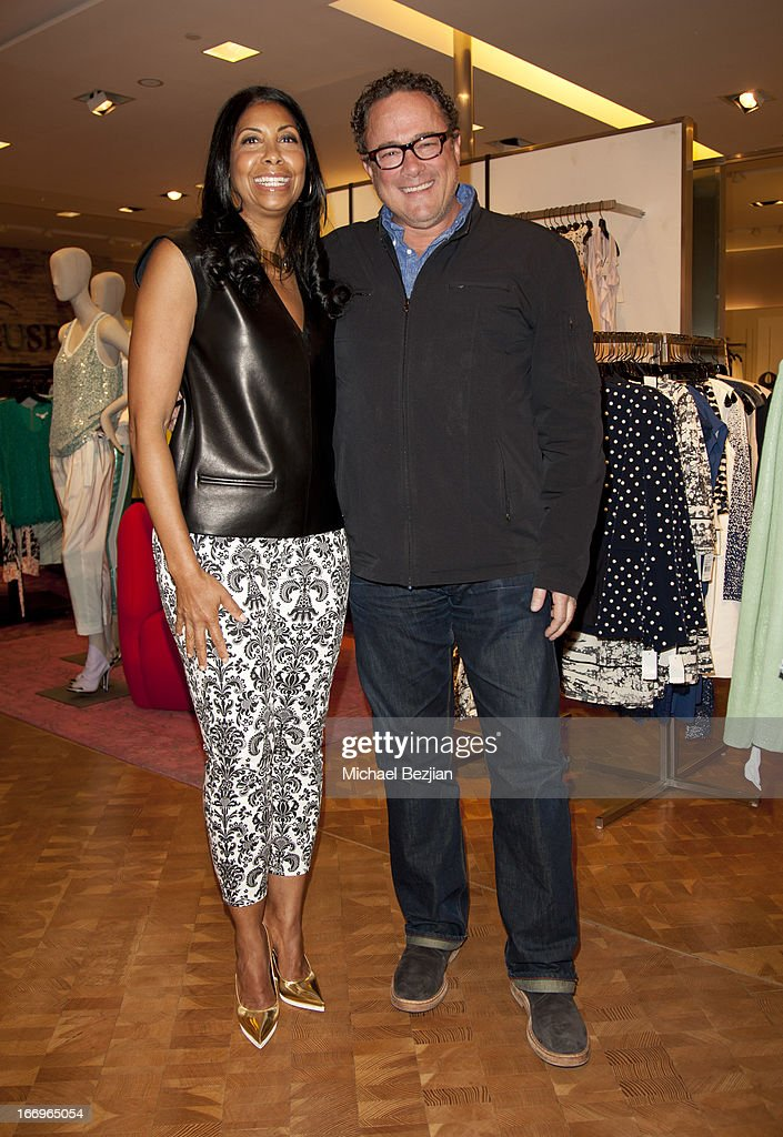 Cookie Johnson and Mitchell Quaranta attend Cookie Johnson and Neiman Marcus host Girls Night Out on April 18, 2013 in Beverly Hills, California.