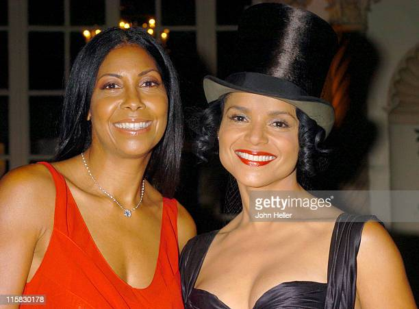 Cookie Johnson and Victoria Rowell during 19th AnnualA Midsummer Night's Magic Scholarship Awards Dinner at Millennium Biltimore Hotel in Los Angeles...