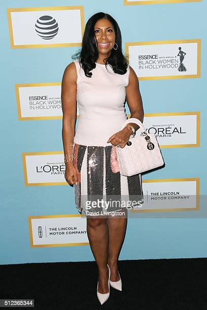 Cookie Johnson arrives at the Essence 9th Annual Black Women event in Hollywood at the Beverly Wilshire Four Seasons Hotel on February 25 2016 in...