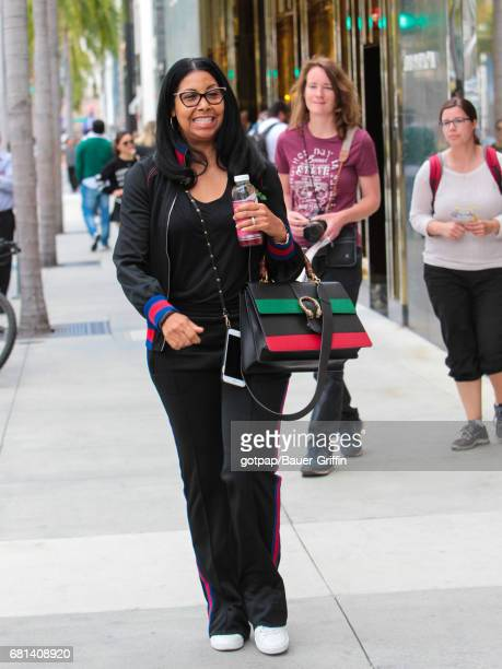 Cookie Johnson is seen on May 09 2017 in Los Angeles California