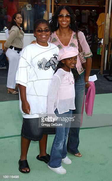 Cookie Johnson Kids during World Premiere Of The Hulk Hollywood at Universal Amphitheatre in Universal City California United States