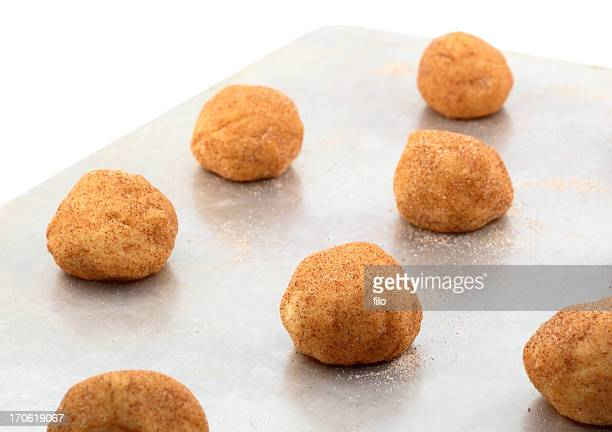 cookie sheet - snickerdoodle stock pictures, royalty-free photos & images