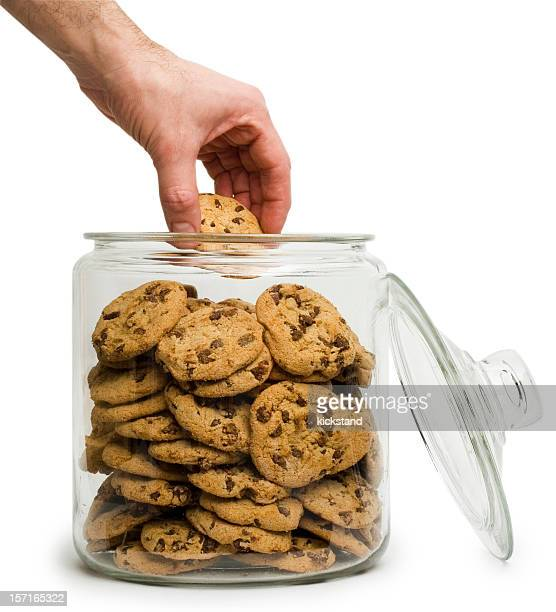 Cookie thief with clipping path