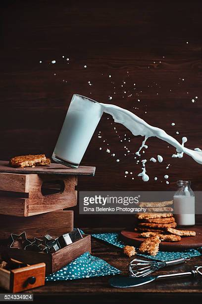 cookies for poltergeist - slow motion stock pictures, royalty-free photos & images