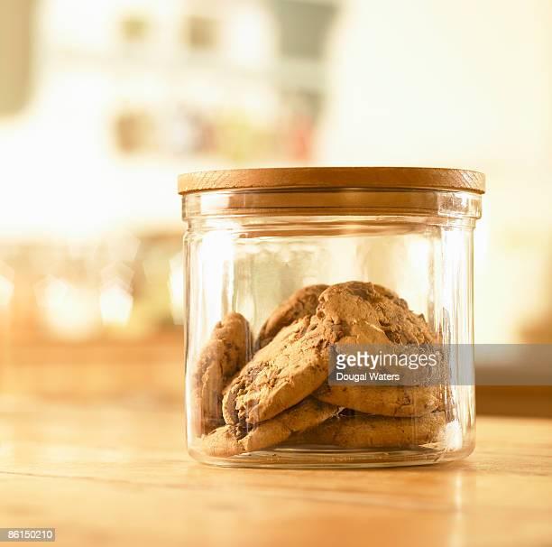 Cookies in jar.