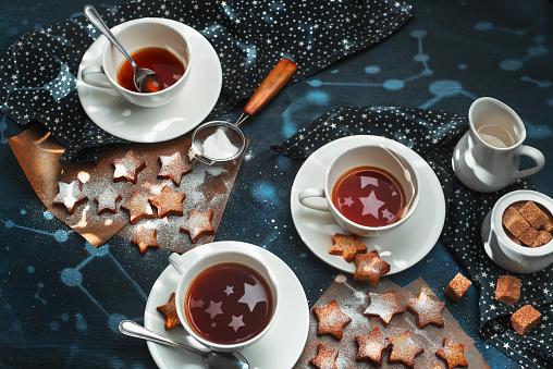 Cookies with stardust - gettyimageskorea