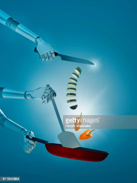 cooking a.i. - cooking illustrations stock pictures, royalty-free photos & images