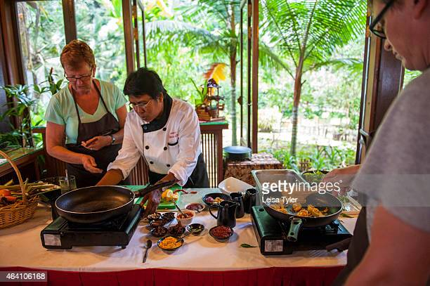 Cooking class at the Tanjong Jara Resort in Dungun a small fishing town straddling the mouth of the Dungun river on peninsular Malaysia's east coast...
