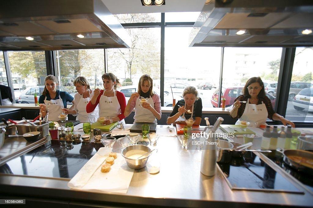 Cooking Classes At Anne Sophie Pic Cours De Cuisine Pour News