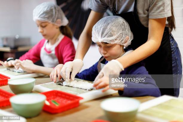 子供のための料理教室