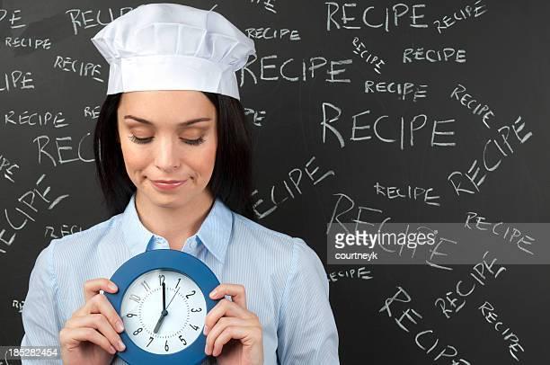 Cooking deadline concept