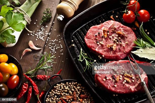 Cooking filet mignon