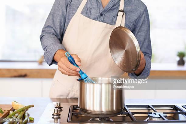 cucinare è una forma d'arte - lid foto e immagini stock