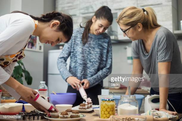 Cooking lesson with Mom