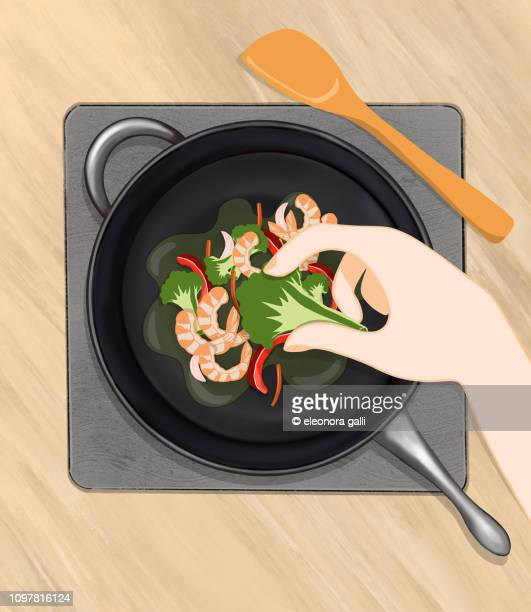 cooking - cooking illustrations stock pictures, royalty-free photos & images