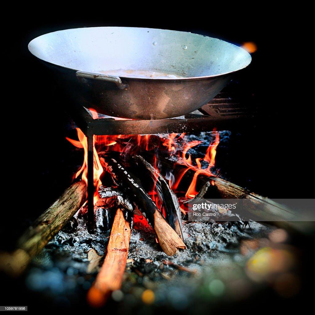 Cooking Pot : Stock Photo