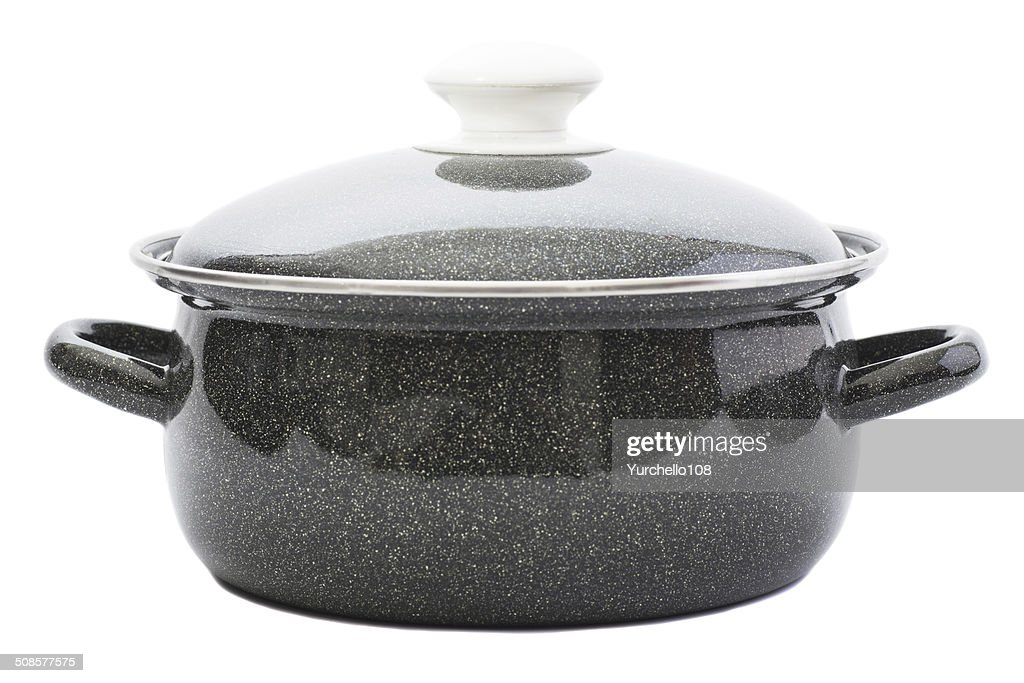 cooking pot : Stock Photo